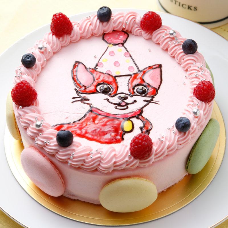 お祝いメッセージ入り!大好きなキャラクターのデコレーションケーキ
