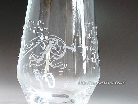 一番人気の名入れグラス
