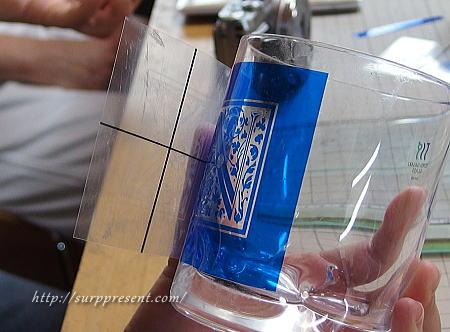 グラス作成 ビックリ体験