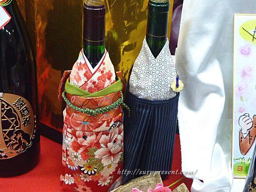 アトリエココロ 着物着用ワイン