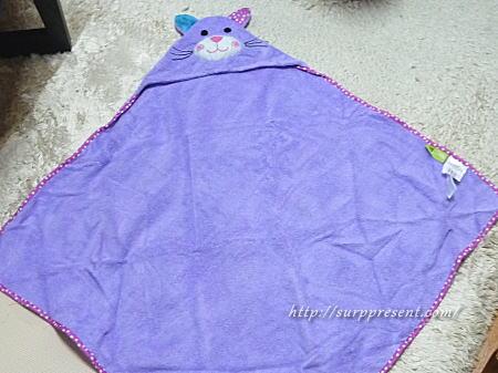 赤ちゃん用バスタオル サイズについて