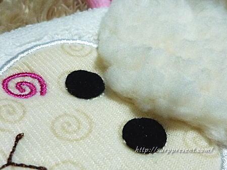 赤ちゃん用バスミトン 縫製・仕様
