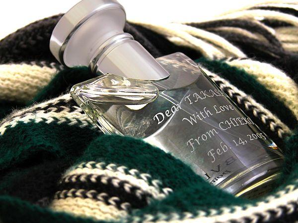 メンズ香水にメッセージを入れて贈れる!人気ブランド選べます