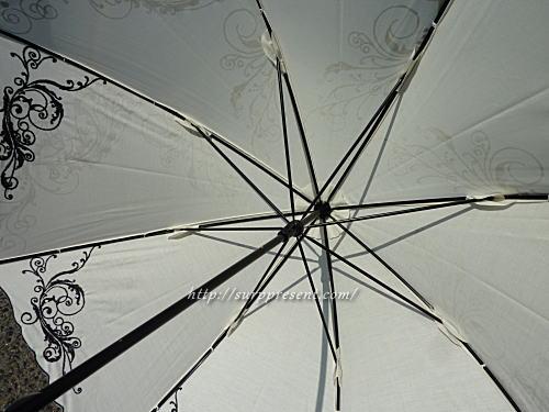 日傘の骨・金具部分