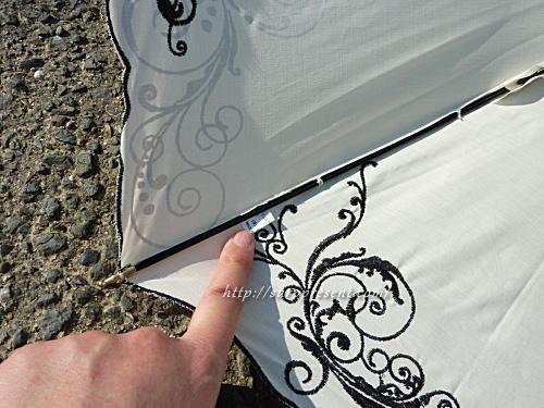 macocca日傘の生産国タグ