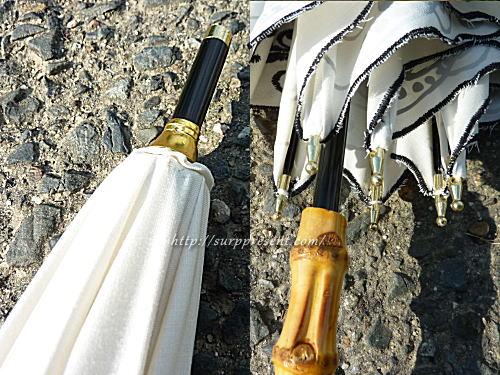 macocca日傘の外側の金具色