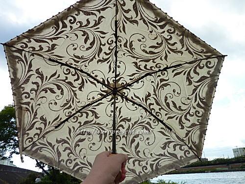 24㎝コンパクト折りたたみ日傘レビュー
