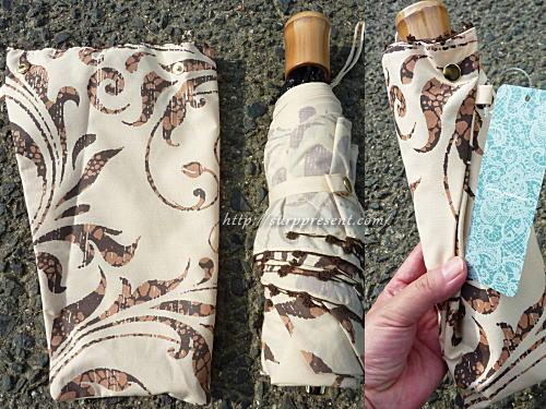 3段折りたたみ傘 収納ケース(カバー)のイメージ