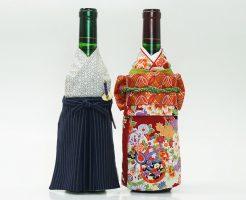 名入れ可能!セット選べる!ボトル着物ワインのおめかし和風ギフト